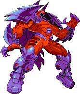 Onslaught Marvel vs Capcom Sprite Idle 1 Right