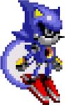 Metal Sonic Sonic CD Sprite Flying 1 Right