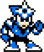 Shadowman Megaman 3 Sprite Standing Right