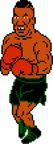 Mike Tyson Mike Tyson's Punch-Out!! Sprite 1