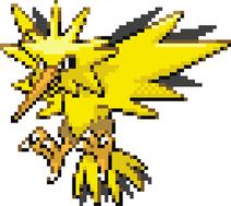 Zapdos Pokemon Fire Red Sprite Front