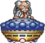 Dr Wily Megaman 7 Sprite Wily Capsule 2 Right