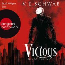 Vicious audiobook cover, German 01