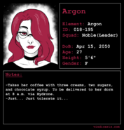 Argon Profile