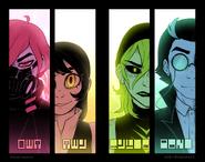 Character Cuts Artwork