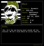 Nic Profile