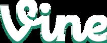 Vine logo lrg white