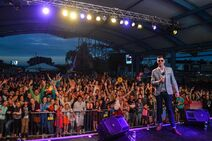 Ryan Swain hosting PARTY IN THE PARK at Flamingo Land Resort