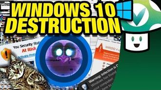 Vinesauce Joel - Windows 10 Destruction