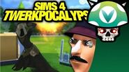 Vinesauce Joel - Sims 4 Waluigis Twerkpocalypse
