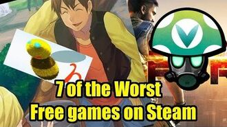 7 of the Worst Free games on Steam - Rev Vinesauce