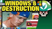 Vinesauce Joel - Windows 8 Destruction