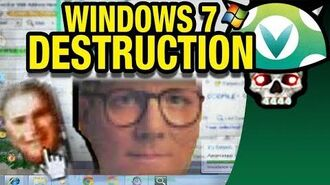 Vinesauce Joel - Windows 7 Destruction