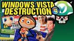 Vinesauce Joel - Windows Vista Destruction