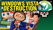 Vinesauce Joel - Windows Vista Destruction