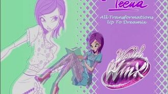 Winx Club Tecna All Transformations Up To Dreamix HD