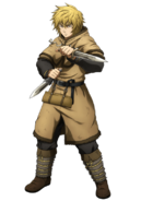 Thorfinn anime design