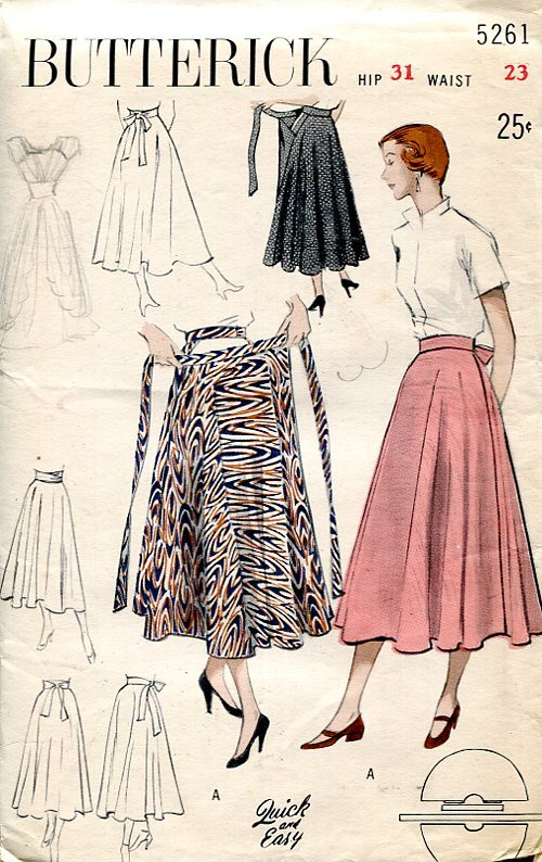 Butterick 5261 A Vintage Sewing Patterns Fandom