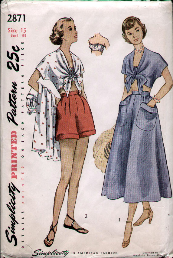 f08dada532 Simplicity 2871 | Vintage Sewing Patterns | FANDOM powered by Wikia