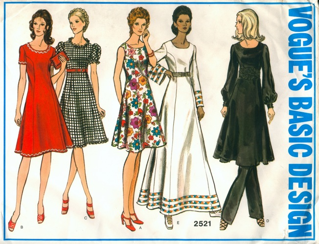 Vogue 2521 | Vintage Sewing Patterns | FANDOM powered by Wikia