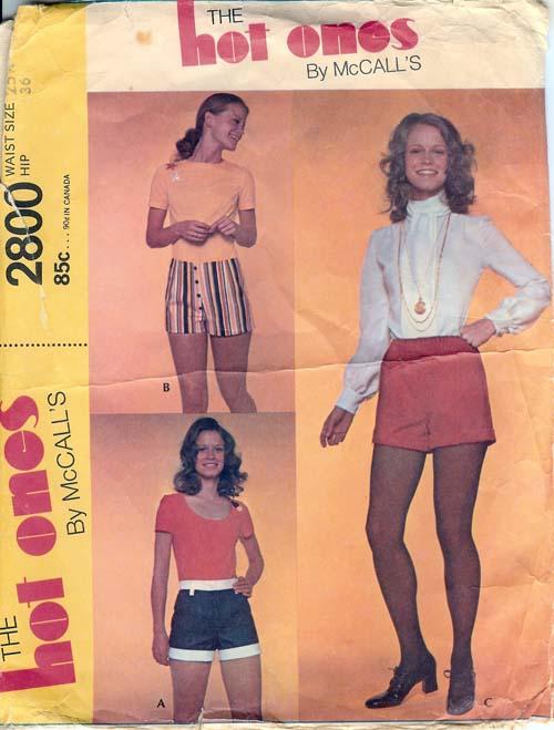 2800M 1971 Hotpants