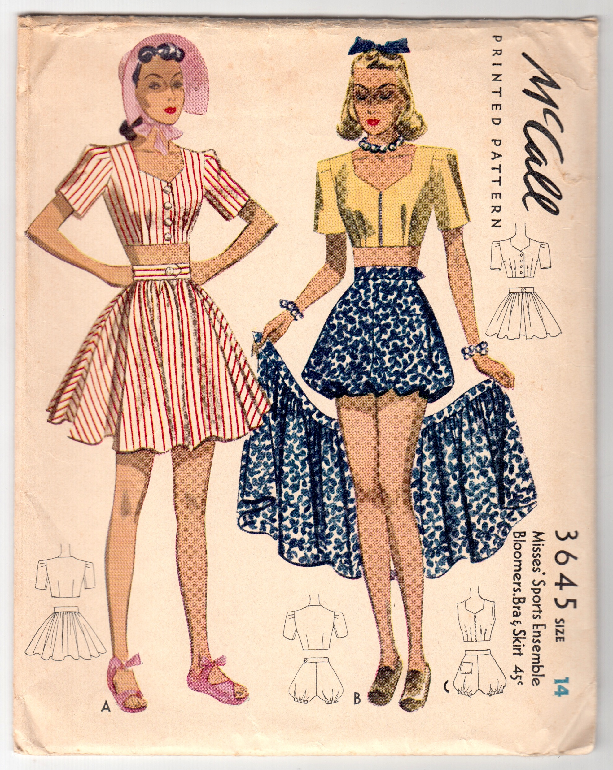 Mccall 3645 Vintage Sewing Patterns Fandom Powered By