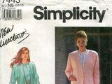 Simplicity 7443 A