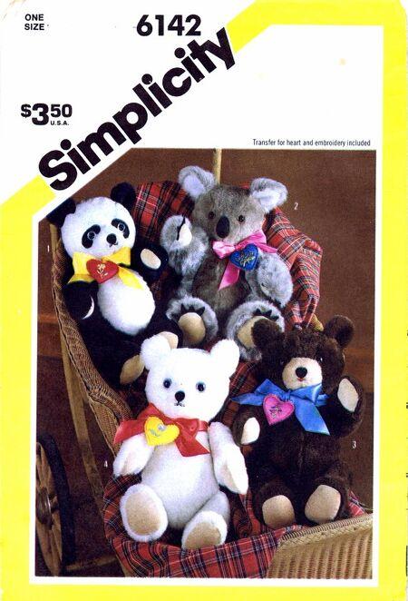Simplicity 1983 6142