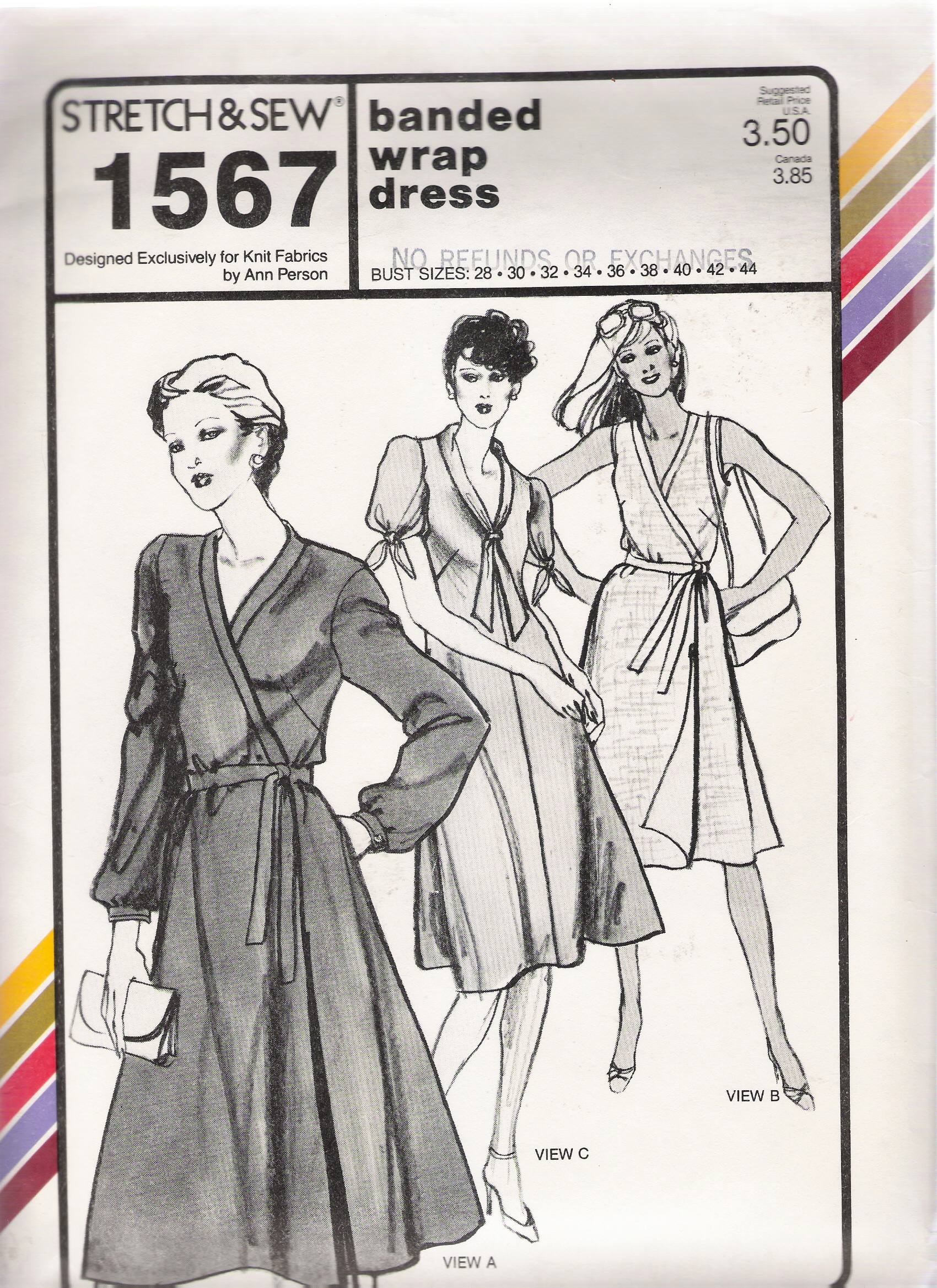 Stretch & Sew 1567 | Vintage Sewing Patterns | FANDOM powered by Wikia
