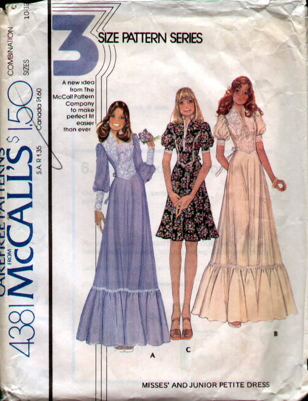 Mccall S 4381 Vintage Sewing Patterns Fandom Powered