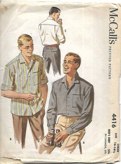 Men's 1950's Shirt