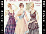 Pictorial Review Fashion Book Summer 1916