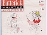 Butterick 5701 B