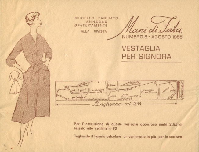 Mani di Fata 8 1955 | Vintage Sewing Patterns | FANDOM powered by Wikia