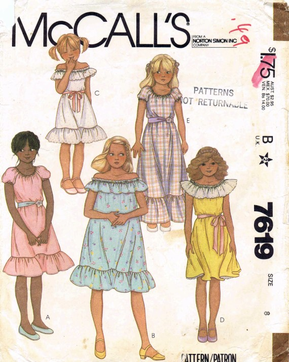 McCalls 1981 7619