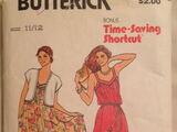 Butterick 6524 A