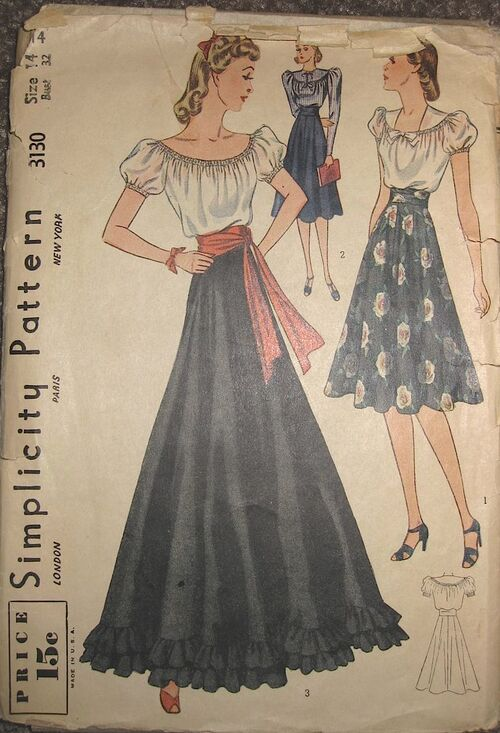 Simplicity 3130 front