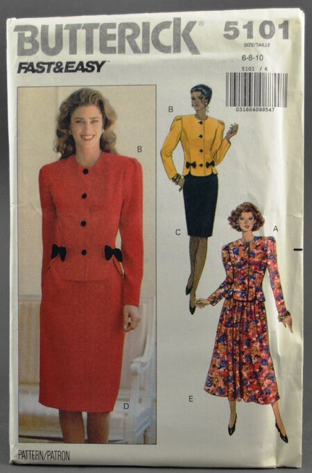 Butterick 5101 Dress Suit 1