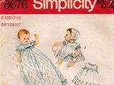 Simplicity 8676 A