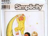 Simplicity 8886 A
