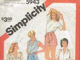 Simplicity 5943 B