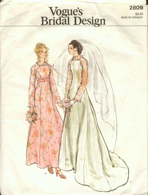 Vogue 2809 Vintage Sewing Patterns Fandom Powered By Wikia