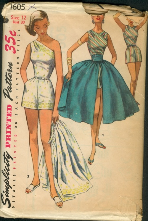 Simplicity 1605 | Vintage Sewing Patterns | FANDOM powered by Wikia