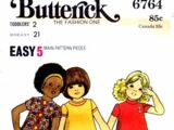 Butterick 6764 A