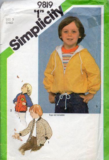 Simplicity 9819