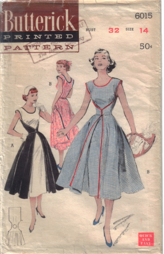 Butterick 6015 Vintage Sewing Patterns Fandom Powered