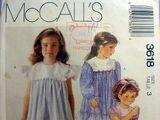 McCall's 3618 B
