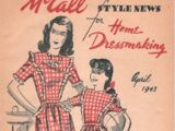 McCall Style News April 1943