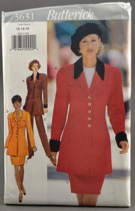 Butterick 3631 Suit 1