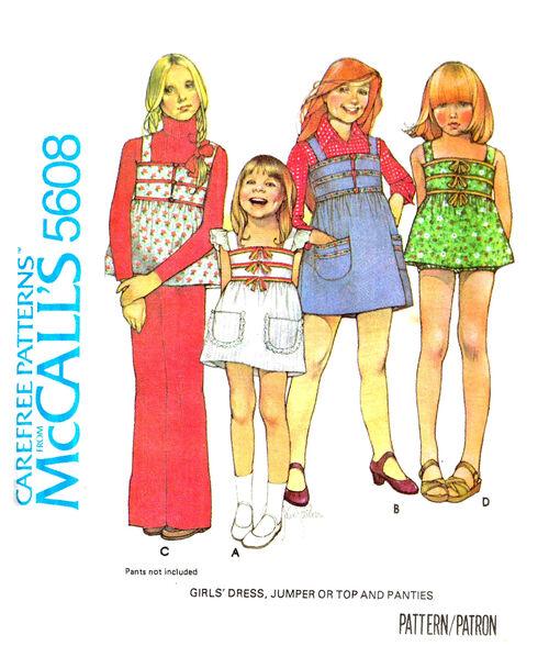 C1977 5608 a McCalls Child Jumper